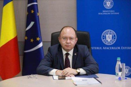 BOGDAN AURESCU: 'Politica externa a Romaniei nu este afectata de ceea ce se intampla pe scena <span style='background:#EDF514'>POLITICA INTERNA</span>'