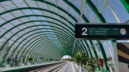 Linia de cale ferata dintre Gara de Nord si Otopeni intra in reabilitare, la mai putin de un an de functionare