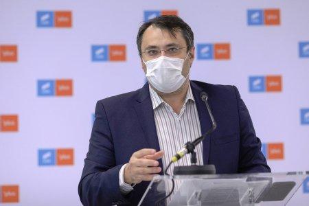 Ministrul demisionar <span style='background:#EDF514'>GHINEA</span> (USR-PLUS) vrea inapoi in Guvern: Mi-as dori sa imi continui proiectele