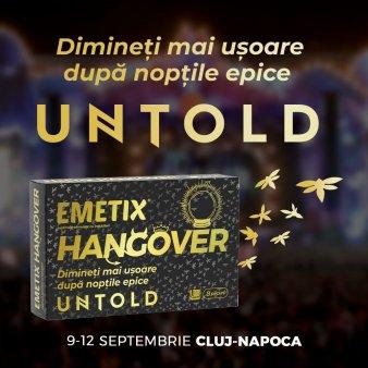 Pregateste-te pentru cel mai asteptat festival cu Emetix® Hangover