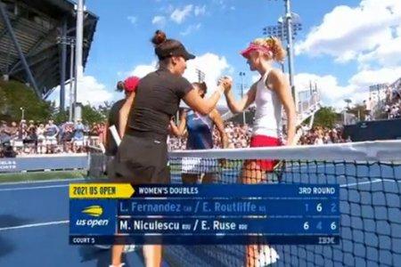 Monica Niculescu si Gabriela Ruse scriu istorie pentru Romania la US Open » Performanta remarcabila la New York