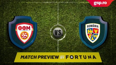 Preliminarii Campionat Mondial 2022 // Match P<span style='background:#EDF514'>REVIEW</span> Macedonia de Nord - Romania