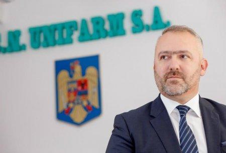 Judecat pentru coruptie, seful Unifarm a dat compania de stat in judecata, cerand echivalentul a 6 salarii de 3.300 de euro pe luna