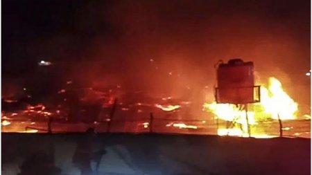 Un incendiul la o inchisoare din In<span style='background:#EDF514'>DONEZ</span>ia face 41 de victime