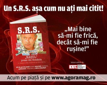 Mai bine sa-mi fie frica, decat sa imi fie rusine! Dezvaluirile unuia dintre cei mai cunoscuti ziaristi in cartea S.R.S – Nasul <span style='background:#EDF514'>PRESEI</span> din Romania