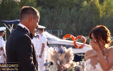Casatoriti pe nevazute. Andreea si Emilian s-au casatorit la prima vedere. Ce reactii au avut cand s-au vazut