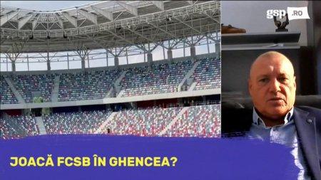 <span style='background:#EDF514'>MARCEL PUSCAS</span>: Din punctul meu de vedere FCSB ar trebui sa aiba dreptul sa joace in Ghencea!