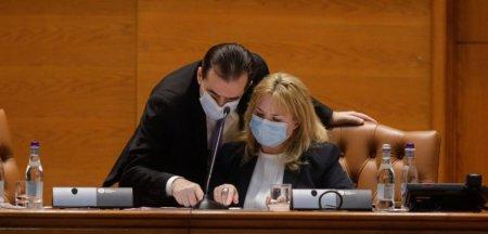 Rasturnare de situatie. Ludovic Orban si Anca Dragu convoaca plenul reunit pentru citirea motiunii de cenzura