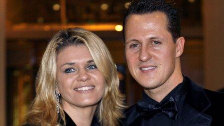 Sotia lui Schumacher vorbeste intr-un interviu rar despre situatia familiei: Michael e aici, diferit, dar e aici
