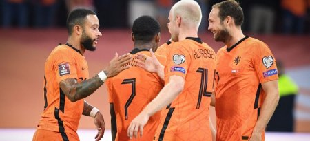 Olanda a surcalasat Turcia. Rezultatele inregistrate marti, in preliminariile CM 2022