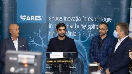 Tulcea, printre judetele cu angiograf: ARES, liderul cardiologiei interventionale din Romania a lansat un centru de cardiologie interventionala in <span style='background:#EDF514'>SPITALUL JUDETEAN</span> de Urgenta Tulcea