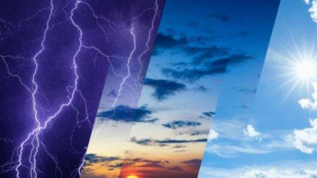 Afla cum se fac <span style='background:#EDF514'>PROGNOZE</span>le meteo