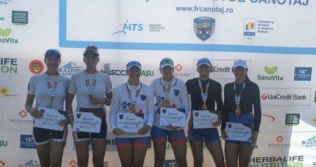 Medaliatii olimpici de la Tokyo participa in aceste zile la Campionatele Nationale pe lacul Snagov