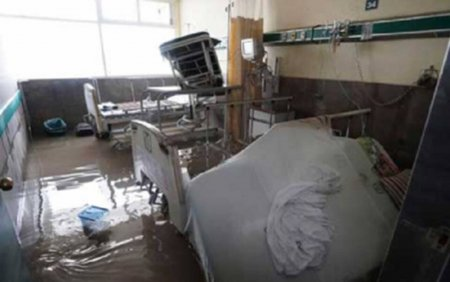 Inundatii de proportii in Mexic. 17 pacienti ai unui spital, decedati