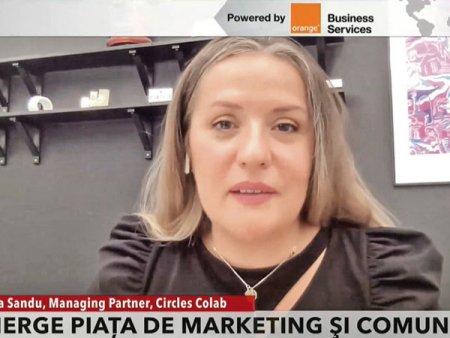 ZF Live. Andreea Sandu, client partner, Circles Colab: Piata de marketing, comunicare si publicitate este in crestere. Exista o negociere financiara, dar si de natura de continut. Vrem sa depasim afaceri de 700.000 de euro
