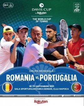 Lotul Romania pentru meciul cu Portugalia din Cupa <span style='background:#EDF514'>DAVIS</span>