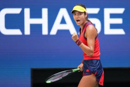 Emma Raducanu scrie istorie la US Open
