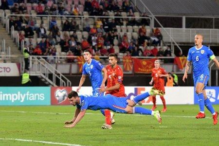 Primele reactii dupa remiza de la Skopje » Ce minusuri a gasit Viorel Moldovan in jocul <span style='background:#EDF514'>TRICOLOR</span>ilor