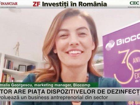 ZF Investiti in Romania! Amalia Georgescu, Biocomp: Companiile ofera dispozitive de dezinfectie drept beneficiu extrasalarial pentru angajatii lor