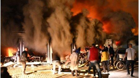 Cel putin zece morti intr-un incendiu la un spital COVID-19 in Macedonia de Nord