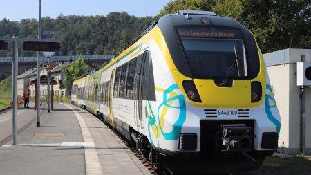 Tren electric pe baterii, testat cu succes in Germania