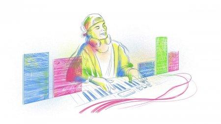 Google l-a comemorat pe DJ-ul Avicii, printr-un Doodle special pentru una dintre <span style='background:#EDF514'>MELODIILE</span> artistului