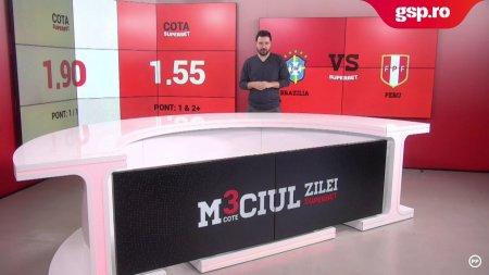 Meciul Zilei Brazilia - Peru. Trei cote tari pentru duelul din preliminariile CM 2022