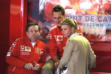 Sotia lui Michael Schumacher a oferit informatii despre starea de sanatate a fostului campion mondial la Formula 1: Este diferit