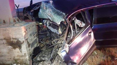 O tanara din Sibiu a murit pe loc, dupa un accident cumplit intr-un sens giratoriu
