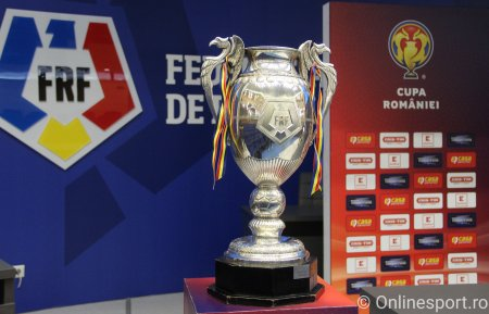 Programul 16-imilor de finala in Cupa Romaniei. Duel tare intre doua favorite la trofeu
