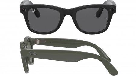 Cum arata primii ochelari inteligenti Facebook. Se numesc Ray-Ban Stories si sunt echipati cu camere foto