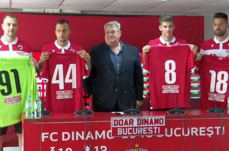 Dinamo si-a prezentat azi noile <span style='background:#EDF514'>TRANSFERURI</span>! Iuliu Muresan a anuntat ce urmeaza pentru caini