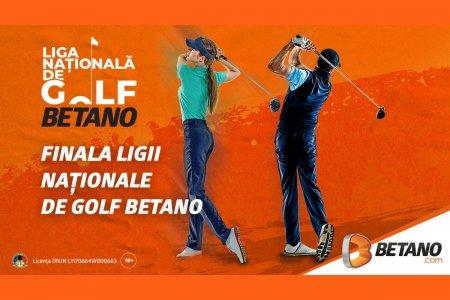 Liga Nationala de Golf BETANO se apropie de Marea Finala