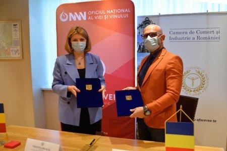 Memorandum de Colaborare CCIR – Oficiul National al Viei si Vinului din Republica Moldova