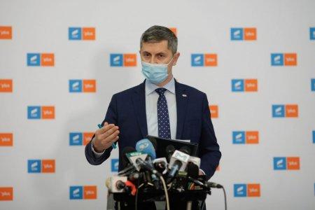 Dan Barna, despre scandalul din Parlament: O incercare disperata a unui membru din echipa lui Forin Citu de a uzurpa conducerea sedintei