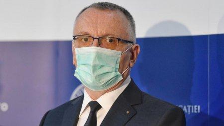 Sorin Cimpeanu: In Bucuresti, rata de infectare va depasi 6 la mie in octombrie