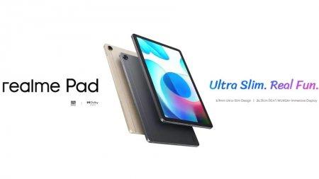 Tableta Realme Pad ofera specificatii de medie la preturi de buget