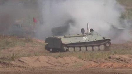 Rusii se joaca iar de-a razboiul. Moscova si aliatii sai simuleaza in Belarus un conflict armat cu NATO
