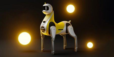 Xpeng anunta primul robot-unicorn pe care il poti calari
