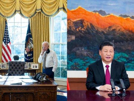 Joe Biden a vorbit cu Xi Jinping despre modalitati de gestionare a divergentelor strategice