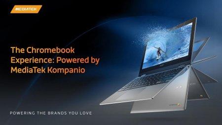 MediaTek lanseaza Kompanio 900T, un chipset dedicat pentru laptopuri Ch<span style='background:#EDF514'>ROME</span>book si tablete cu 5G