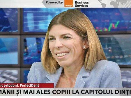 ZF Live. Denisa Zaharia, PerfectDent, un business de 800.000 de euro pe an: Pe o scara de la 1 la 10, adultii sunt undeva in jur de 6-7 in ceea ce priveste situatia dintilor. Se vede o evolutie in ultimii zece ani