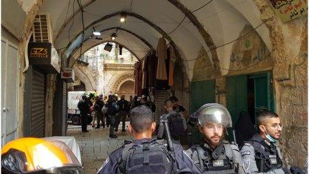 Un militant <span style='background:#EDF514'>PALESTINIAN</span> a incercat sa comita un atac asupra unor agenti de politie in Ierusalim