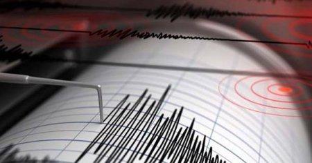 Cutremur cu magnitudinea de 4 grade pe scara Richter, in judetul Buzau