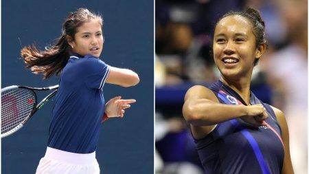 Doua <span style='background:#EDF514'>ADOLESCENTE</span> in finala de la US Open, pentru prima oara din 1999