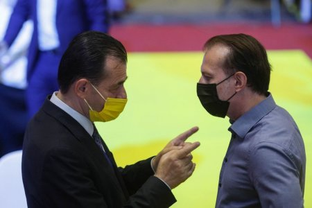 Orban, despre Citu: Ai aruncat tara in criza, esti amenintat de motiune si te postezi <span style='background:#EDF514'>SUPERMAN</span>!