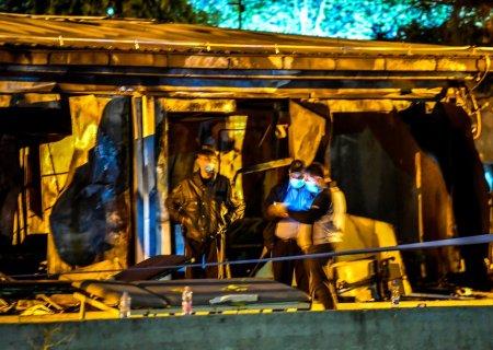 Ministrul sanatatii din Macedonia de Nord si-a dat demisia dupa incendiul izbucnit la un spital Covid si soldat cu 14 morti