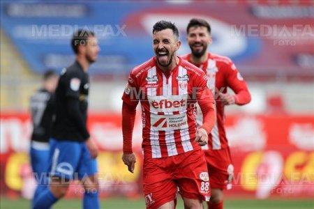 Liga 1. Rapid a ratat victoria la Arad, dupa ce a condus cu 2-0 la pauza