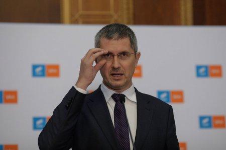 Dan Barna, liderul USR PLUS, s-a intalnit cu <span style='background:#EDF514'>EMIL BO</span>c, primarul liberal al Clujului, pentru a discuta despre criza guvernamentala