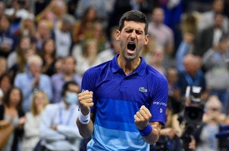 Novak Djokovic, la un meci de istorie: e in finala US Open! Urmeaza un duel cu Daniil Medvedev